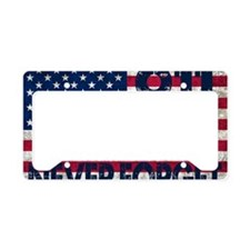 USA 911 License Plate Holder