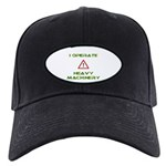 Heavy Machinery Black Cap