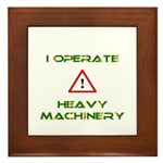 Heavy Machinery Framed Tile