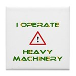 Heavy Machinery Tile Coaster