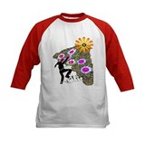 Young Girl Flower Climber Tee
