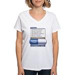 Fukitol Women's V-Neck T-Shirt