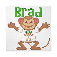 brad-b-monkey Queen Duvet