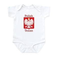 Polish Texan White Eagle Infant Bodysuit