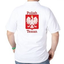 Polish Texan White Eagle T-Shirt