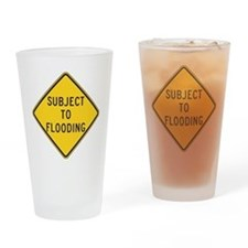 Flooding Drinking Glass