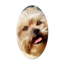 Chloe journal Oval Car Magnet