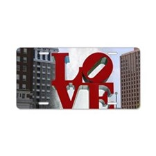 7780 Love Aluminum License Plate