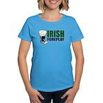 Irish Foreplay Green Women's Dark T-Shirt