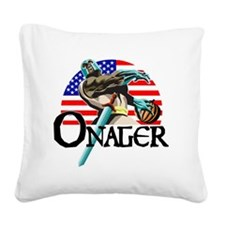 Onager Team USA - lg3 Square Canvas Pillow