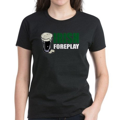 Irish Foreplay Green Women's Dark T-Shirt