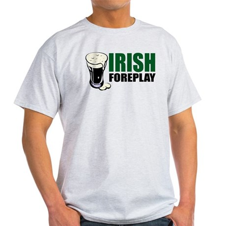 Irish Foreplay Green Light T-Shirt