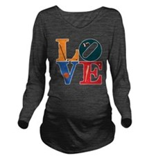 Philly Sports Love Long Sleeve Maternity T-Shirt