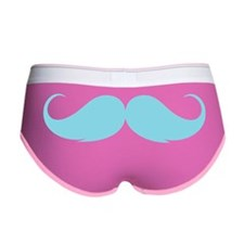 moustache4 Women's Boy Brief
