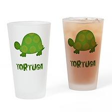 tortuga Drinking Glass