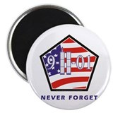 "NEVER Forget - 2.25"" Magnet (10 pack)"
