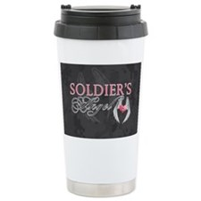 soldiers angel coin purse Ceramic Travel Mug