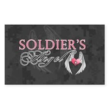 soldiers angel coin purse Decal