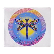 LGLG-Butterfly (Purp) Throw Blanket