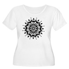 bw flower T-Shirt
