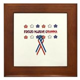 Proud Marine Gramma Framed Tile