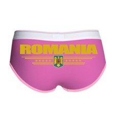 Romania (Flag 10) pocket Women's Boy Brief