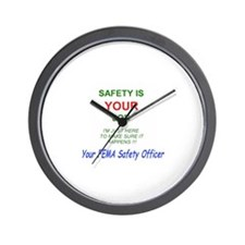 Safety Guys Wall Clock
