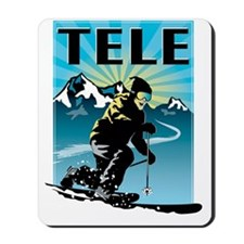 TELE big mtns Mousepad