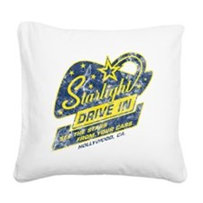 Starlight_DriveIn Square Canvas Pillow