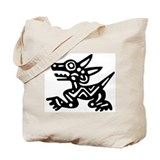AbOriginalz Meso Wolf Tote Bag