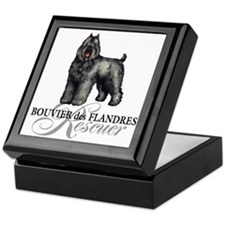 bouvier rescue Keepsake Box