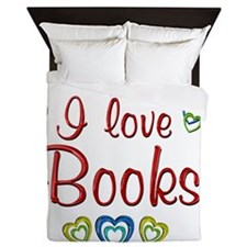 books Queen Duvet