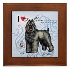 bouvier-tile Framed Tile