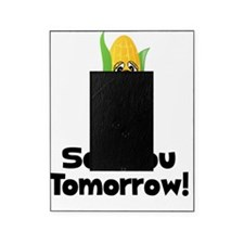 Corn See Tomorrow Black Picture Frame