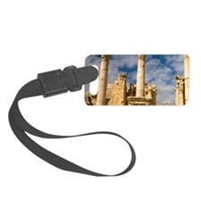 A visitor climbs to the church o Luggage Tag