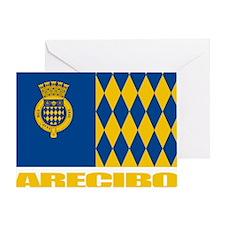 Arecibo Flag Greeting Card