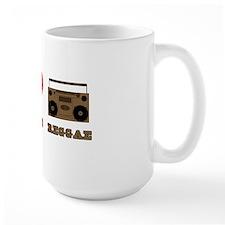 Peace Love Raggae Mug