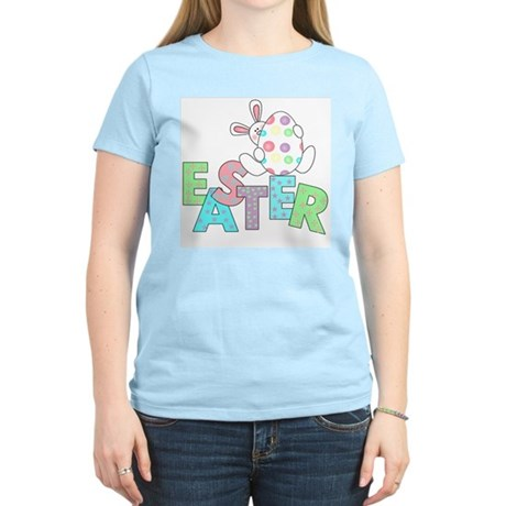 Bunny With Easter Egg Women's Light T-Shirt