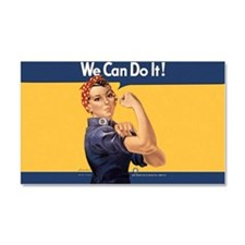 we-can-do-it-rosie_10-833x18h Car Magnet 20 x 12