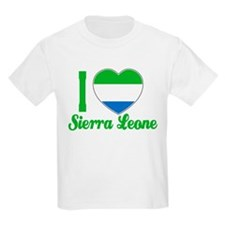I love Sierra Leone Kids T-Shirt