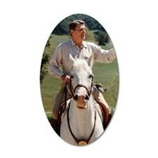 Reagan_on_horseback Wall Decal