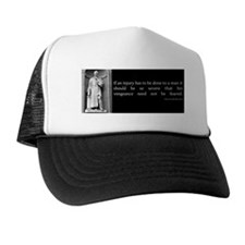 an injury2 Trucker Hat