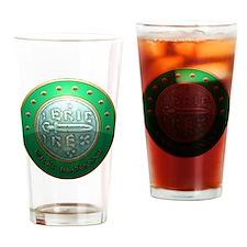 Eric Bloodaxe shield Drinking Glass