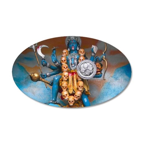 Kali Ma 35x21 Oval Wall Decal