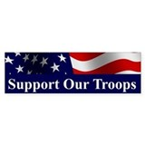 Support Our Troops Bumper Bumper Stickers