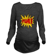 FUA_Wt2 Long Sleeve Maternity T-Shirt