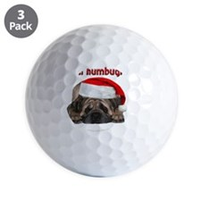 bah-humbug-ornament Golf Ball