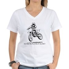 Rather be playing inthe dirt with motorbike Women'