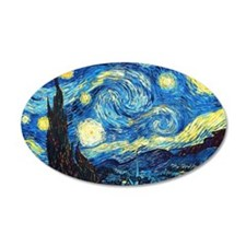starry night coin purse Wall Decal