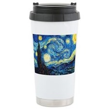 starry night coin purse Ceramic Travel Mug